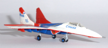 Mig-29 Russian Air Force Strizhi Aerobatic Team Herpa Model 1:200 552233 E